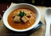 Supa crema de legume cu chimen