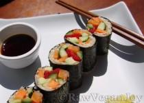 Sushi Nori cu sparanghel si telina