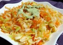 Lahanosalata…Salata greceasca de varza
