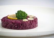 Salata de varza rosie cu avocado