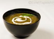 Supa crema de legume cu spanac