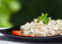 Ciuperci pleurotus cu maioneza de caju si usturoi
