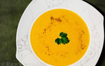 Supa de morcov cu curry