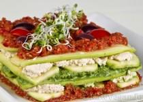 Lasagna raw
